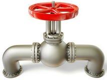 Pipe valve Stock Photos