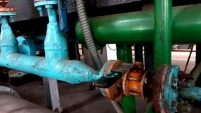 Pipe valve stock photography