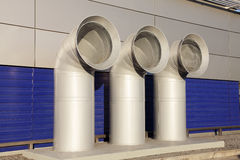 Pipe ventilation Royalty Free Stock Photography