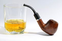 Pipe whiskey Stock Photography