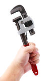 Pipe Wrench Stock Photography