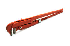 Pipe wrench or plier wrench Stock Photo