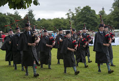 Pipeband Royalty Free Stock Photography