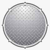 Pipeframe circle Royalty Free Stock Image