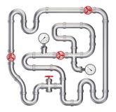 pipeline royaltyfri illustrationer