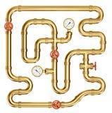 pipeline vektor illustrationer
