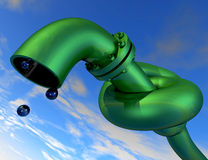 Pipeline 2 Stock Photo