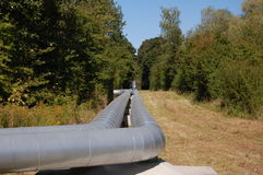 pipeline royaltyfria bilder