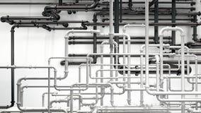 Pipeline Background Stock Image