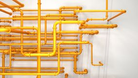 Pipeline background Royalty Free Stock Images