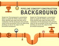 Pipeline concept background Stock Photo