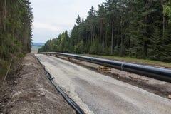Pipeline construction Royalty Free Stock Photos