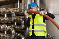 Pipeline Craftsman Royalty Free Stock Photography