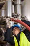 Pipeline craftsman Royalty Free Stock Photo