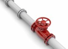 Pipeline - 3D Stock Image