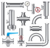 Pipeline elements Stock Images