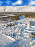 pipeline för antenn 3 Royaltyfria Foton