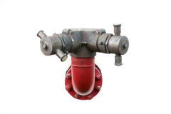 Pipeline fire pump Royalty Free Stock Photo