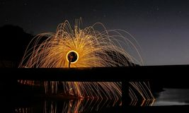 Pipeline flares stock images