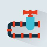 Pipeline  icon design Stock Photo