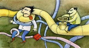 Pipeline vector illustration
