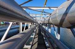Industrial Pipe Stock Photography