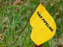 Pipeline Marker Royalty Free Stock Photo