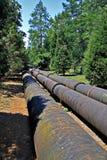 Pipeline Through Nature Stock Photos