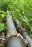 Pipeline  oil  modular Royalty Free Stock Photography