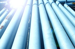 Pipeline. Oil pipeline,The oil industry royalty free stock photography