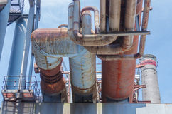 Pipeline overhead Stock Photography