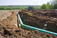 Pipeline in Pennsylvania Stock Photo