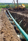 Pipeline in Pennsylvania Royalty Free Stock Photography
