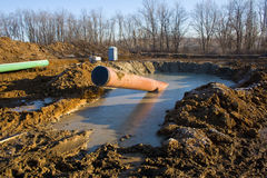 Pipeline in Pennsyvania Royalty Free Stock Photo