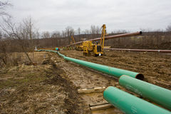 Pipeline in Pennsyvania Royalty Free Stock Photography