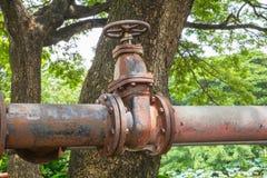 pipeline rusty στοκ φωτογραφία με δικαίωμα ελεύθερης χρήσης