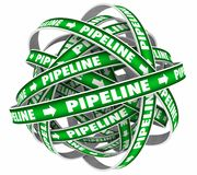 Pipeline Sales Cycle Royalty Free Stock Photography