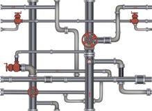 Pipeline seamless background Stock Photos