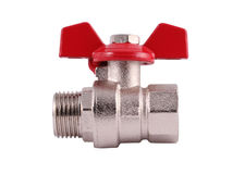 Pipeline shutoff valve Royalty Free Stock Photo