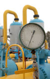 Pipeline station equipment Royalty Free Stock Image