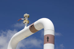 Pipeline transportation Oil Royalty Free Stock Photography
