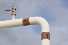 Pipeline transportation Oil Stock Photo