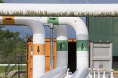 Pipeline transportation Oil Royalty Free Stock Photos