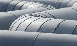 Pipeline tubes Stock Photos