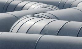 Pipeline tubes Stock Photos