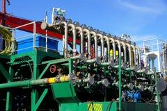 Pipeline unit Royalty Free Stock Photo