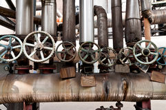 Pipeline valve Stock Images