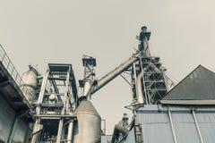 Pipeline valve facilities in steel mills Royalty Free Stock Photo