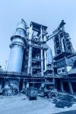 Pipeline valve facilities in steel mills Royalty Free Stock Image