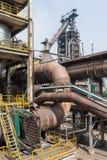 Pipeline valve facilities in steel mills Stock Photography